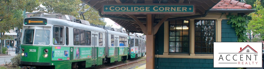 Coolidge Corner Train Platform